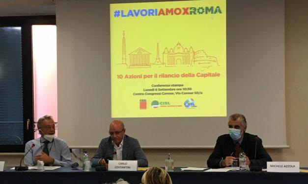 Un patto per il lavoro e lo sviluppo sostenibile #LavoriAmoXRoma